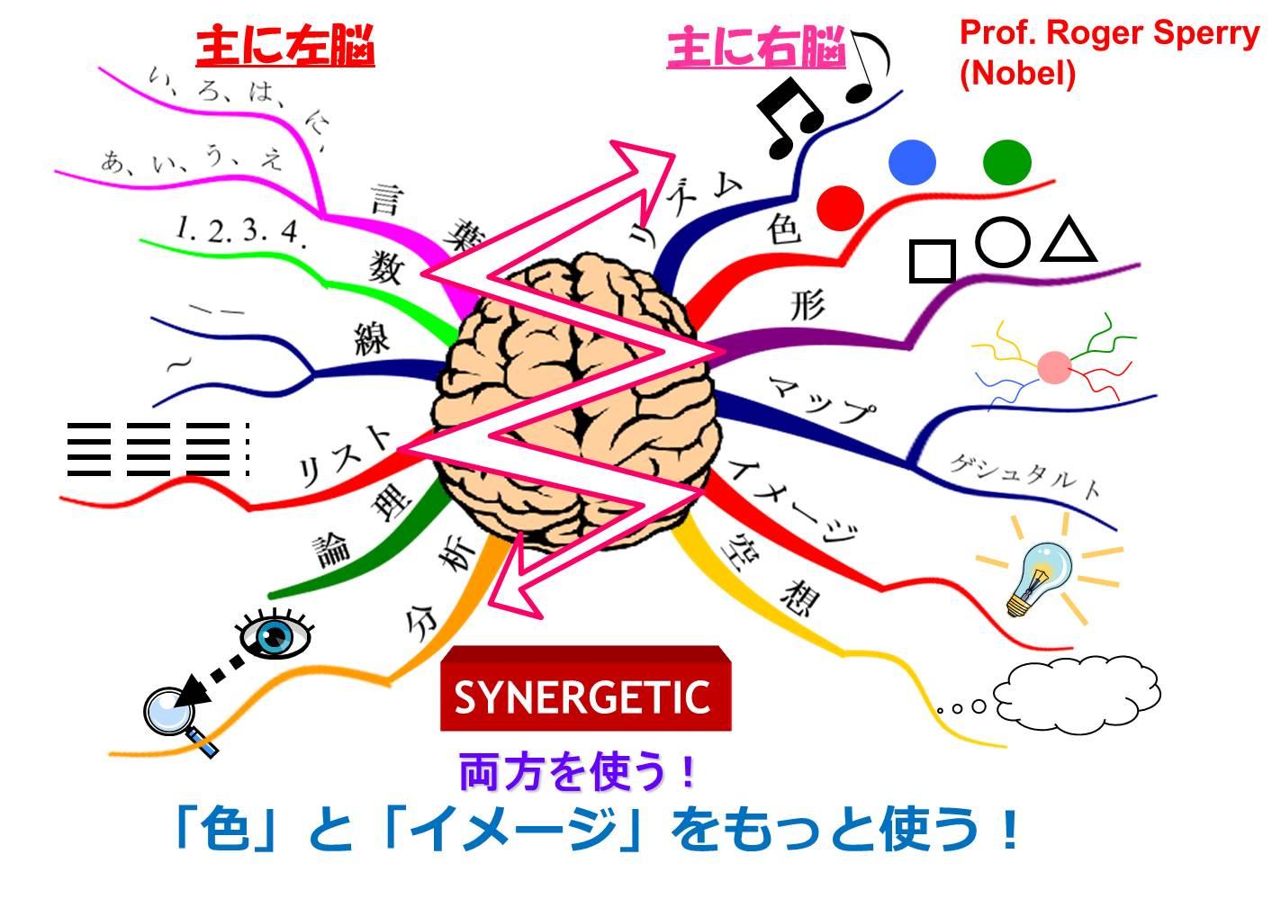 両方の脳を同時に鍛えるマインドマップ