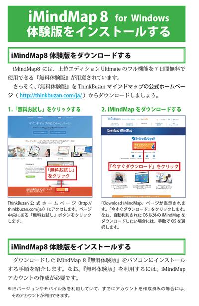 iMindMap 8 マニュアルダウンロード